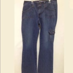 Old Navy Jeans-Stretch-Cargo Style Pockets